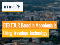 BTB TOUR based in Macedonia is using Travelaps Technology