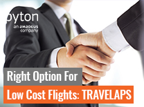 Right Option for Low Cost Flights: TRAVELAPS
